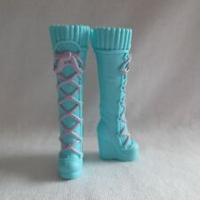 NEW Barbie Life in the Dream House Summer Doll Tall Blue & Pink Boots ~ Shoes