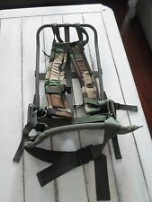 MILITARY FIELD ALICE BACK PACK + CAMO STRAPS - VERY CLEAN - USED ONCE