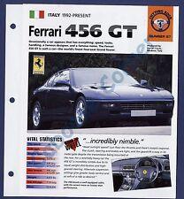 Ferrari 456 GT IMP Brochure Specs 1992-Present Group 1, No 27