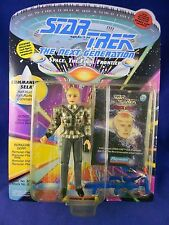 Star Trek Next Generation 1993 Commander Sela - Playmates - MINMP - w/Space Cap