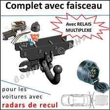 ATTELAGE remorque Jeep Wrangler JK dès 2007 faisceau 7 br relais radars de recul