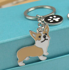 Corgi Dog Puppy Plush Toy Figure Animal Emulational Birthday Christmas keychain