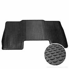 VW VOLKSWAGON CRAFTER 2006  FULLY TAILORED DELUXE RUBBER CAR MATS IN BLACK