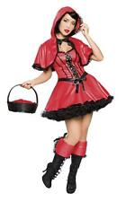 2Pc Red Riding Hood XL 12-14 uk Fancy Dress Party Hen Night Christmas Fairy Tale
