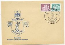 Germany DDR 1987 25th International Olympic Day Postmark Event Cover