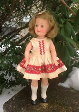 "Vintage 12"" SHIRLEY TEMPLE IDEAL DOLL"