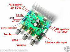 TDA2030A 30W+30W Hifi Stereo Audio Power Amplifier Board 15WX2 Treble / Bass Amp