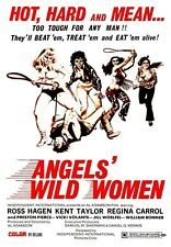 Film Angels Wild Women too tough for any man Poster