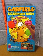 GARFIELD incomplete vinyl Colorforms 1980s vtg beat-up toy Jim Davis comic