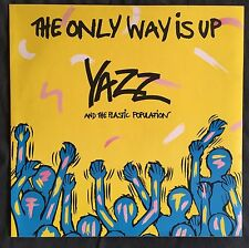 "Yazz And The Plastic Population ‎12"" The Only Way Is Up - England (EX+/M)"