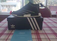 Adidas blanc mountaneering nmd, ville sock, uk 9!!!