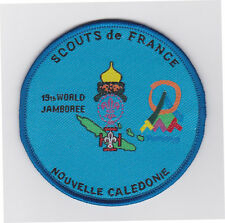 1999 World Scout Jamboree NEW CALEDONIA / NOUVELLE CALEDONIE SCOUTS Cont Patch