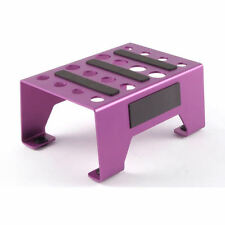 Fastrax 1/10th and 1/8th Pit/Car Stand - Purple FAST410P