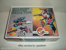 VF-1J Super Valkyrie Millia Miriya Type 1/100 Bandai model kit Macross Robotech