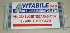 CONDENSATORE Radiatore ARIA CONDIZIONATA A/C FIAT PANDA 1.2 BENZINA 03 -  NUOVO