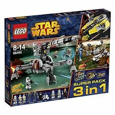 LEGO Star Wars™ 66495 Super Pacco 3 1 (75038 75037 75045) NEW MISB