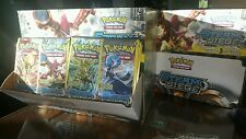 4 Pokemon Steam Siege Booster Pack -  X4 BOOSTER PACKS