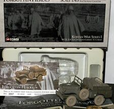 WC51 3/4 Ton Weapons Carrier CORGI 1/43 scale  KOREAN WAR SERIES, HARD TO FIND