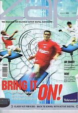 MICHAEL OWEN LIVERPOOL Zap magazine Aug 2001