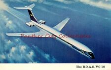 Vintage Postcard The BOAC VC 10 Vickers British Airliner Old PC