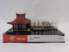 HO Wadhams Building / Structure Kit - Walthers Cornerstone #933-2854
