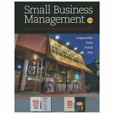 NEW HARDCOVER - Free Express Ship - Small Business Management by Longenecker 17E