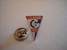 a1 GORNIK ZABRZE FC club spilla football piłka nożna pins kołek polonia poland