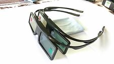2X replacement TDG-BT500A/400A SSG-5100GB 3D Glasses active For Sony Samsung TV