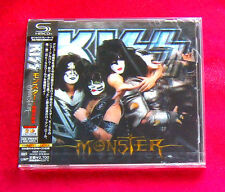 KISS MONSTER JAPAN AUTHENTIC SHM CD NEW 3D COVER OUT OF PRINT RARE UICY-75380