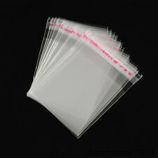 1000pcs Sealable Poly Clear OPP Cellophane Cello Bags Self Adhesive 70x50mm