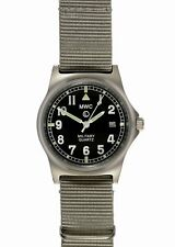 MWC G10 LM Military Watch Grey Strap 50M Water Date Resistance Quartz NEW