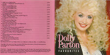 CD DOLLY PARTON FAVOURITES 16T BEST OF MADE IN U.K. 1992