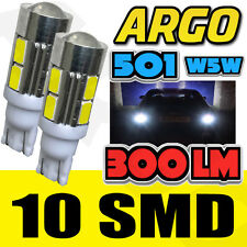 LED SMD XENON WHITE 501 194 T10 W5W SIDELIGHT BULBS JEEP GRAND CHEROKEE 4X4 SUV