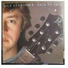 "RICK DERRINGER ""FACE TO FACE"" - LP"