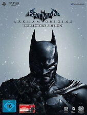 Batman: Arkham Origins Collector's Edition PS3 Sony PlayStation 3 2013 Sealed UK