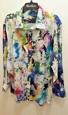 NWT Robert Graham Exclusive Shirt- Sz 2XL- ANGLING- Beautiful!!