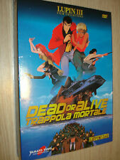 DVD LUPIN III THE 3rd N°8  DEAD OR ALIVE TRAPPOLA MORTALE