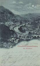 Giesshübl-Sauerbrunn Kyselka AK 1899 Mondschein Tschechien Ceska 1604482