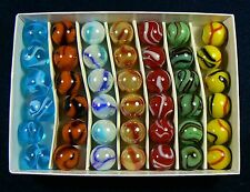 42- 5/8 Inch Classic Marble Collectors Box Set N