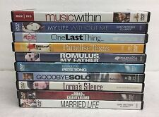 (10) Indie Film Festival Art House DVD Lot: Paradise Texas Goodbye Solo MORE #3