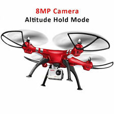 Syma X8HG 2.4Ghz 4CH 6-Axis Gyro RC Quadcopter Drone HD Camera RTF New US Ship
