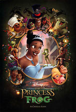 PRINCESS AND THE FROG MOVIE POSTER 2 Sided ORIGINAL INTL 27x40 DISNEY