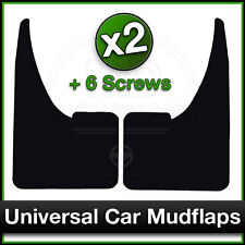 UNIVERSAL Car FORD FOCUS FIESTA MONDEO GALAXY Rubber MUDFLAPS Mud Flaps PAIR