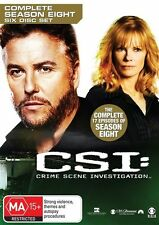 Csi Season 8 NEW R4 DVD