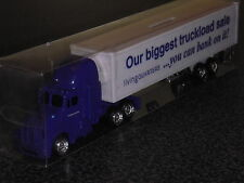 NIB Living Quarters Semi Tractor Trailer Truck Toy W/Package & Key (Never Open)