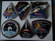 Authentic SpaceX First 12 Patches CRS COTS Falcon 9 Dragon NASA ISS Patches
