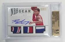 2012/13 NATIONAL TREASURES BLAKE GRIFFIN AUTO TRIPLE 3 COLOR PATCH 20/25 BGS 9.5