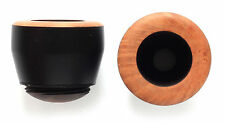 EBONY or Black Bowl for Falcon pipe DOVER smooth - new UNSMOKED model EB-02