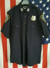POLICE UNIFORM SHIRT/CAMICIA, poliziotto, NYPD, LAPD, Gr: S, M, XXL, 3xl, New York Police
