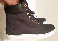 TIMBERLAND men shoes boot High Top leather sneaker size 11  (Dark Blue)